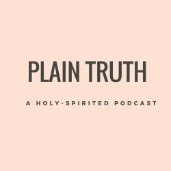 Plain truth logo